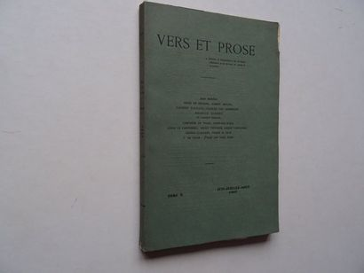 «Vers et prose» [revue tome X], Œuvre collective...