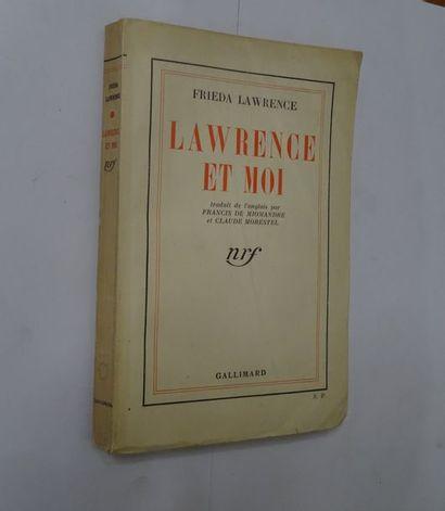 «Lawrence et moi», Frieda Lawrence; Ed....