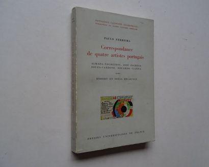 «Correspondance de quatre artistes Portugais...