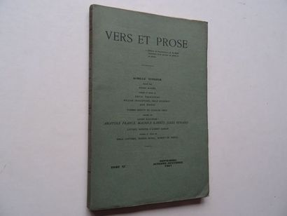 «Vers et prose» [revue tome XI], Œuvre...