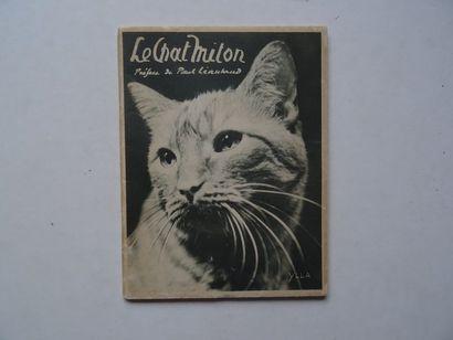 «Le chat Miton», Marie Dormoy, Paul Léautaud;...