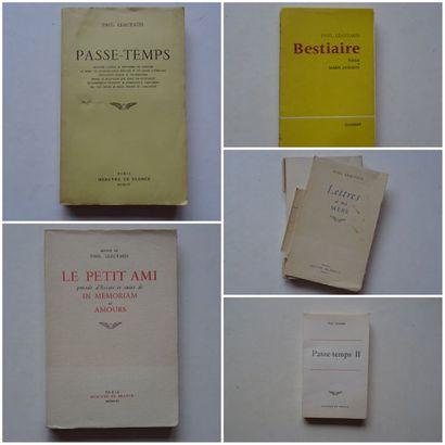 Lot de 5 ouvrages: - «Passe-temps II»,...