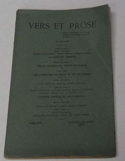 «Vers et prose» [revue tome XIV], Œuvre...