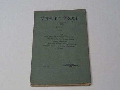 «Vers et prose» [revue tome XV], Œuvre...