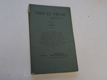 «Vers et prose» [revue tomes XVI], Œuvre...