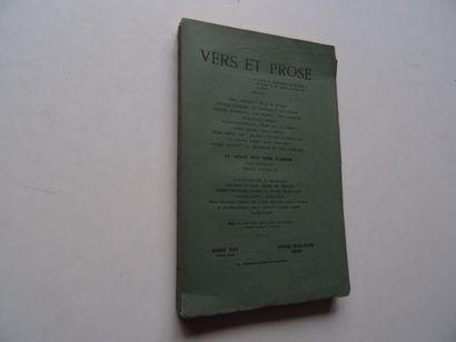 «Vers et prose» [revue tome XXI], Œuvre...