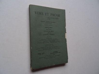 «Vers et prose» [revues tome XXIV], Œuvre...