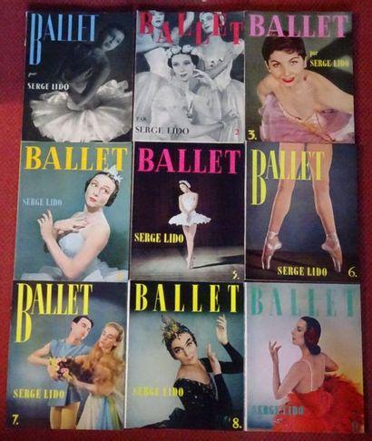 «Ballet» [9 ouvrages suppléments à la revue...