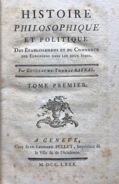 RAYNAL (Guillaume-Thomas-François)