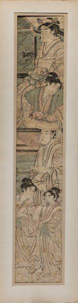 JAPON - Eishosai Choki (1725 -1795)
