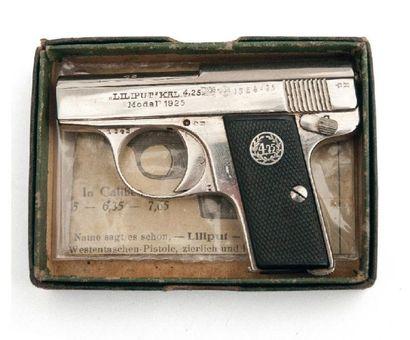 Pistolet « Liliput » modèle 1925. Carcasse...