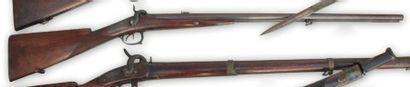Fusil double. (1837) du type « voltigeur...