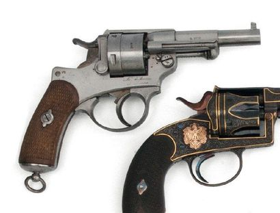Revolver. (1873) Canon daté 1876. Manufacture...