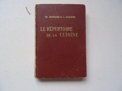 « Le répertoire de la cuisine», Th. Gringoire...