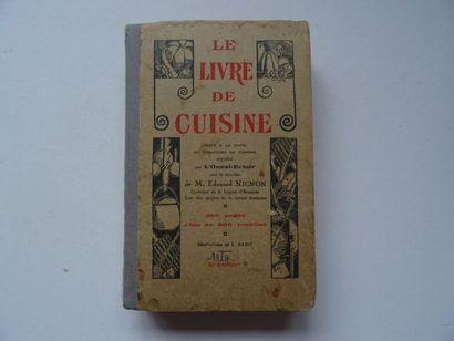 «Le livre de cuisine», Œuvre collective...