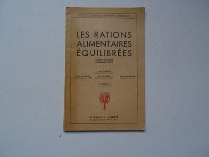 « Les rations alimentaires équilibrées»,...