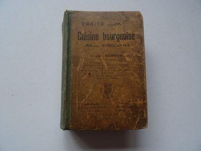 «Traité de cuisine bourgeoise Bordelaise»,...