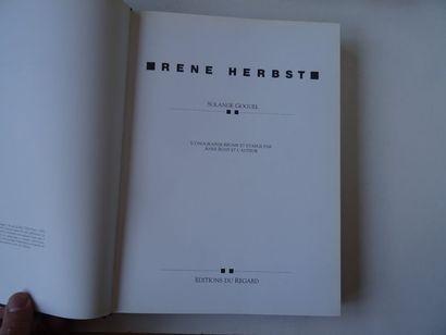 «René Herbst», Solange Goguel; Ed. Edition du regard 1990, 368 p. (jaquette insolée...