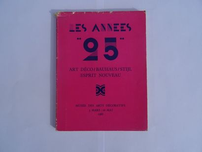 «Les années 25: Art Déco/ Bauhaus/Stijl...