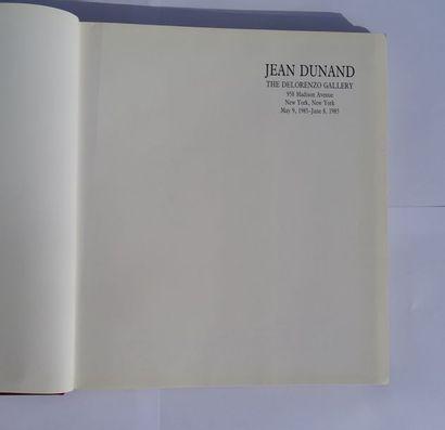 «Jean Dunand» [catalogue d'exposition], Œuvre collective sous la direction de...