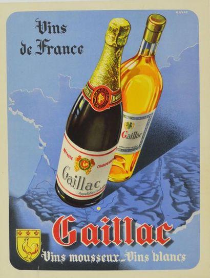 ANONYME. Vins de France Gaillac. Vins mousseux...