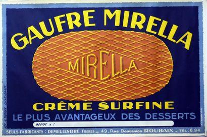 ANONYME. Gaufre Mirella crême surfine. Le...