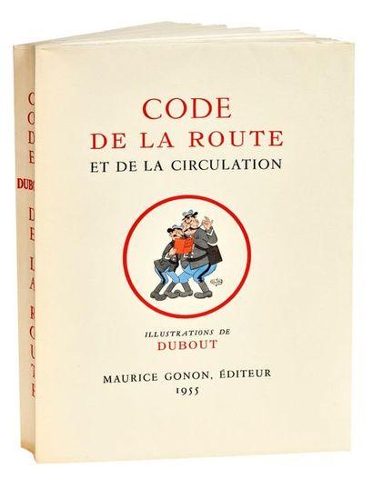 Code de la route Maurice Gonon éditeur 1955. Tirage limité à 1500 ex. sur grand...