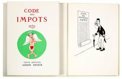 Code des impôts Maurice Gonon éditeur 1958....