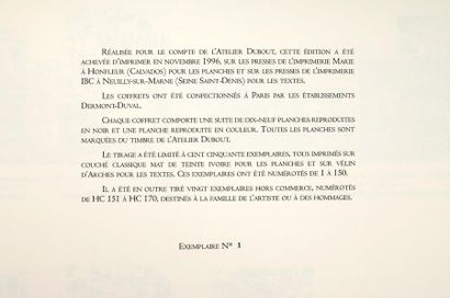 Le Fou dessinant Atelier Dubout 1996. Le...