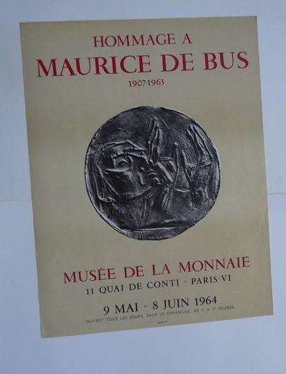 «Hommage à Maurice de Bus, 1907-1963»,...