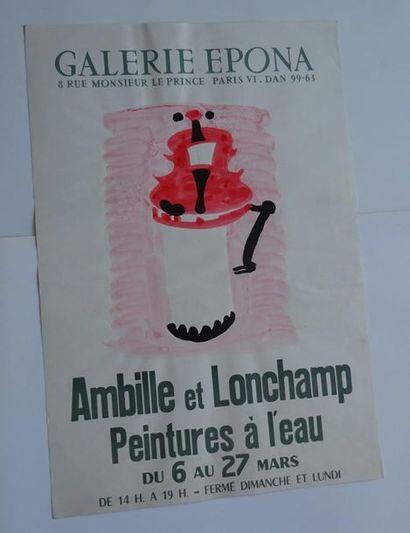 «Ambille et Lonchamp: peintures à l'eau»,...