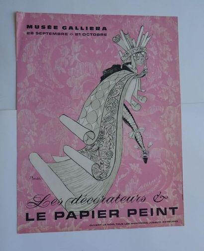 «Les décorateurs et le papier peint», Musée...