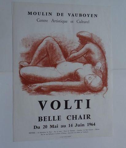 «Volti: Belle chair», Moulin de Vauboyen,...