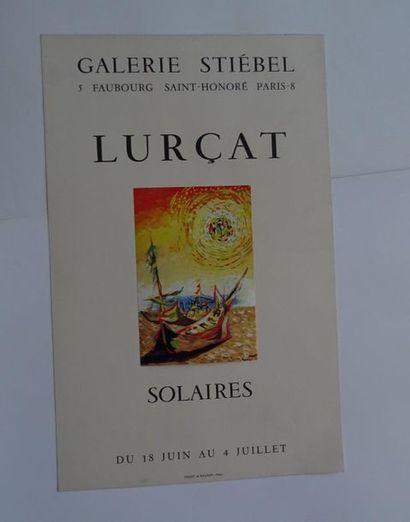 «Lurçat: solaires», Galerie Stiébel, sans...
