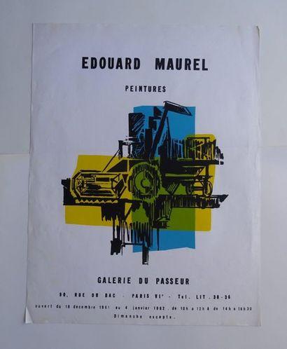 «Edouard Maurel: Peintures», Galerie du...