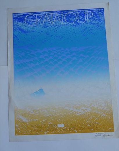 «Grataloup», Galerie Marquet, 1973, [72.5*57...