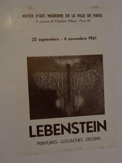 «Lebenstein: Peintures-gouaches-dessins»,...