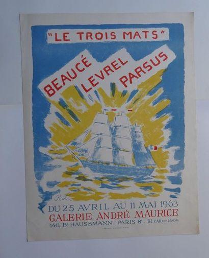 """«""""Le trois mats"""": Beaucé, Levrel, Parsus»,..."""
