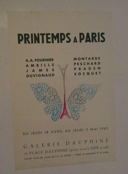 «Printemps à paris», Galerie Dauphine,...