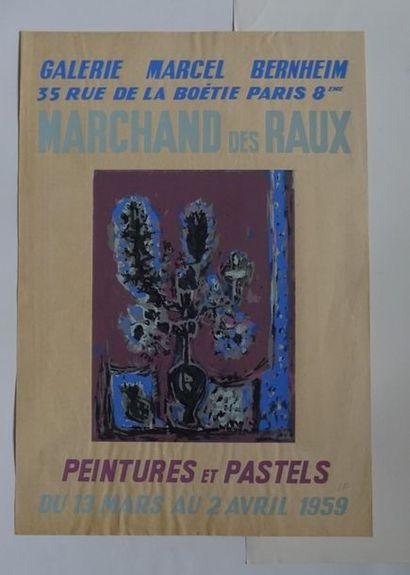 «Marchands des Raux: peintures et pastels»,...