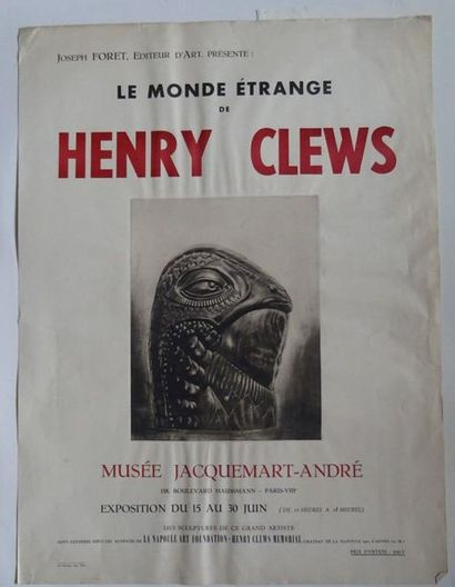 «Le monde étrange de Henry Clews», Musée...