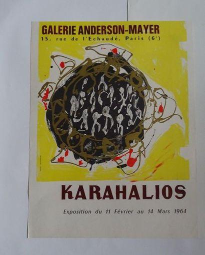 «Karahlios», Galerie Anderson-Mayer, 1964;...