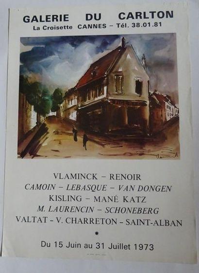 «Vlaminck-Renoir-Camoin-Lebasque-Van Dongen-Kisling-Mané...