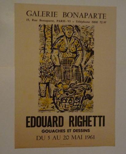 «Edouard Righetti: Gouaches et dessins»,...