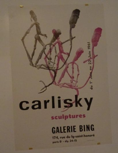 «Carlisky: sculptures», Galerie Bing,...