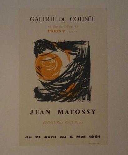 «Jean Matossy: Peintures récentes», Galerie...