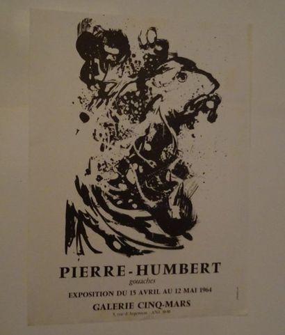 «Pierre Humbert: Gouaches», Galerie du...