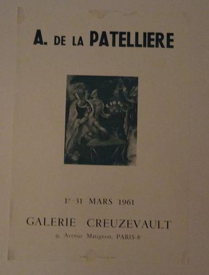«A. de la Patelière», Galerie Creuzevault,...