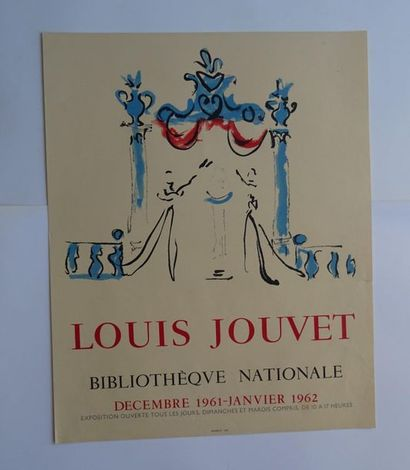 «Louis Jouvet», Bibliothèque Nationale,...