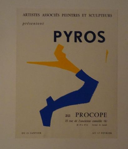 «Pyros», Procope, sans date, [48*37.5 cm],...